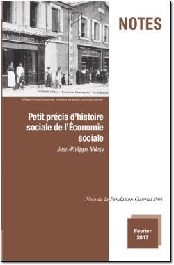 Petit précis d'histoire sociale de l'Économie sociale (Jean-Philippe Milesy)