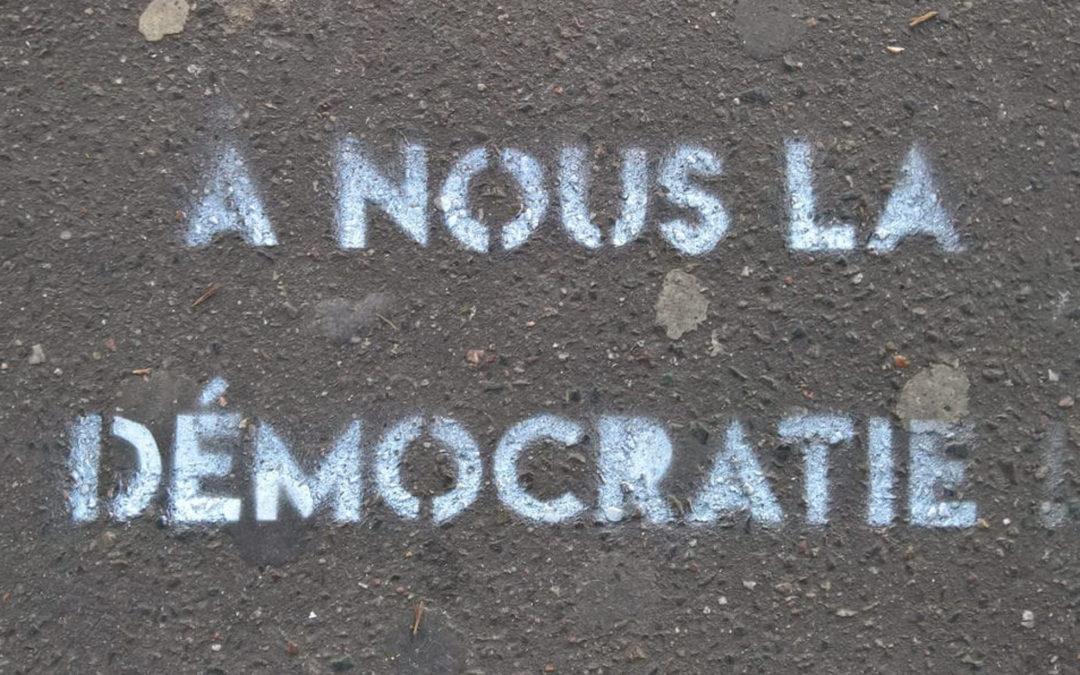 La démocratie: une rencontre entre producteurs et usagers?